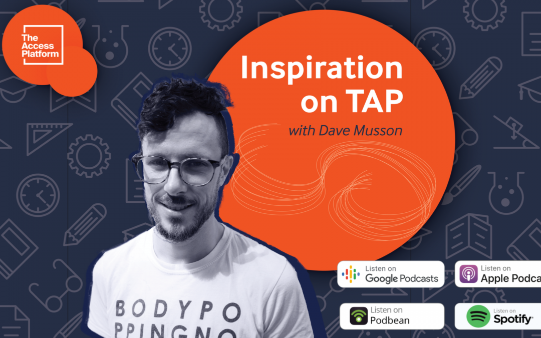 An Inspirational listen – time to podcast!