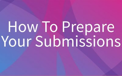 How To Prepare Your Submissions